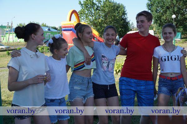 В Вороновском районе устроили «Молодежный бум»