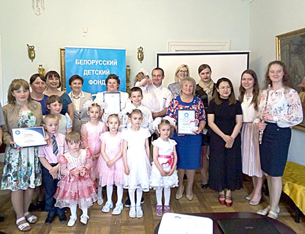 Председатель Вороновского районного отделения ОО «Белоруский детский фонд» Татьяна Сушинская удостоена почетного звания «Друг детей»
