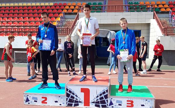 Пять личных призовых мест и второе общекомандное привезли с областной спартакиады легкоатлеты Вороновщины