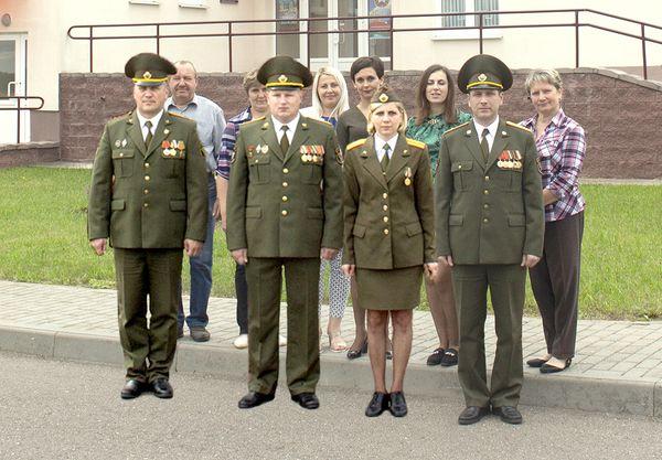 Сегодня 75-летний юбилей отмечает военкомат Вороновского района