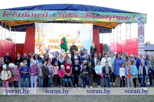 Финальный аккорд празднования Дня Независимости Республики Беларусь в Вороново (Видео)