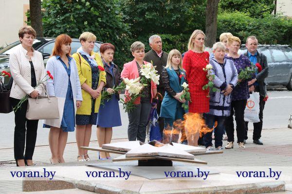 Помним и чтим день освобождения Вороново от немецко-фашистских захватчиков