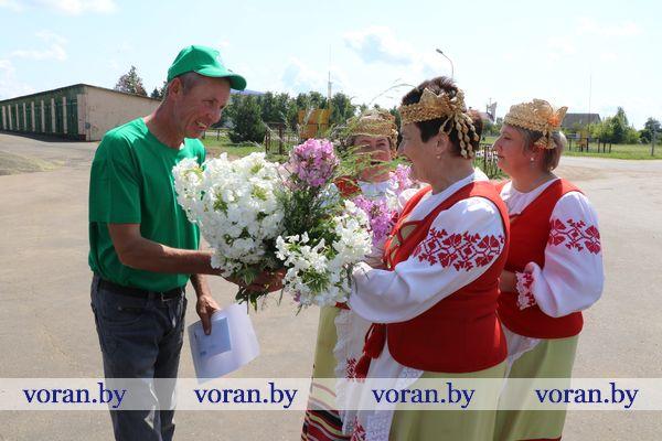 В Вороновском районе чествовали первых водителей-тысячников!