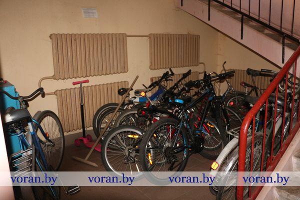 Заявления о краже велосипедов все чаще стали поступать в отдел внутренних дел Вороновского района