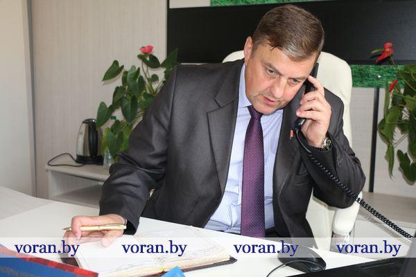 В Вороново прием граждан и прямую телефонную линию провел депутат Палаты представителей Национального собрания Республики Беларусь Александр Маркевич.