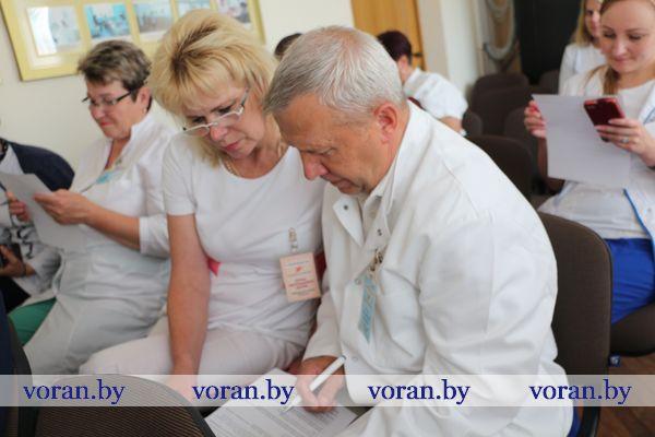 О спортивных достижениях белорусов и не только. В Вороновском районе прошел Единый день информирования
