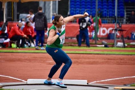 Наша землячка — толкательница ядра Алена Дубицкая — первая на чемпионате Европы