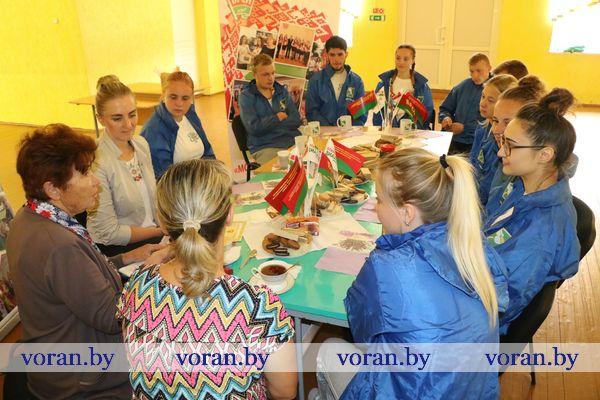 День рождения белорусских студенческих отрядов, который приходится на 1 августа, отметили в детском оздоровительном лагере «Ромашка»