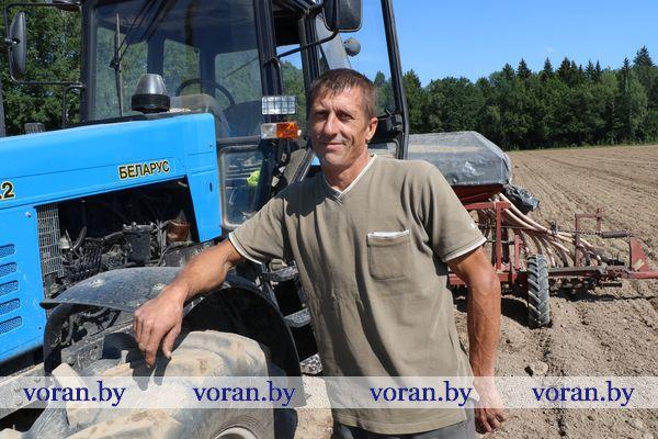 Время сева рапса поторапливает аграриев Вороновщины