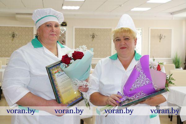 Вороновских поваров наградили за вкусные обеды