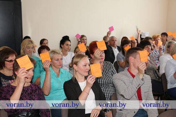 В Вороновской центральной районной больнице прошла профсоюзная отчетно-выборная конференция