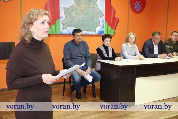 В Вороновском районе прошёл Единый день информирования