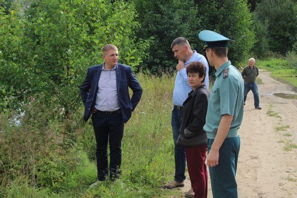 В Вороновском районе правоохранители  устанавливают причину гибели рыбы в водоеме