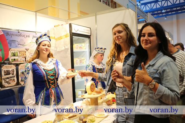 Чем угощали участников ХХ республиканской выставки-ярмарки  «Еврорегион «Неман-2019» вороновчане?
