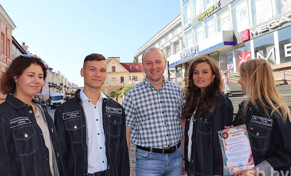 На Гродненщине завершили работу 344 студенческих отряда: чем им запомнилось это трудовое лето?