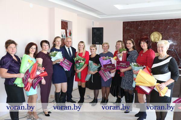 В День матери в Вороновском райисполкоме прошел торжественный  прием женщин