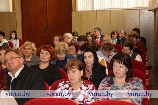 Председатель Гродненского областного Совета депутатов Игорь Жук встретился с идеологическим активом Вороновского района