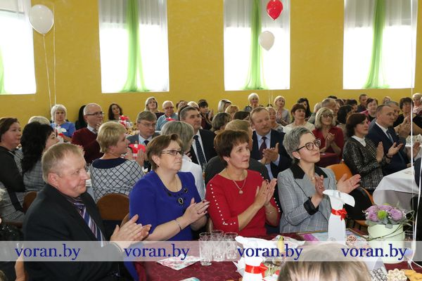 Накануне Дня учителя педагоги Вороновщины отметили свой профессиональный праздник (Фото)