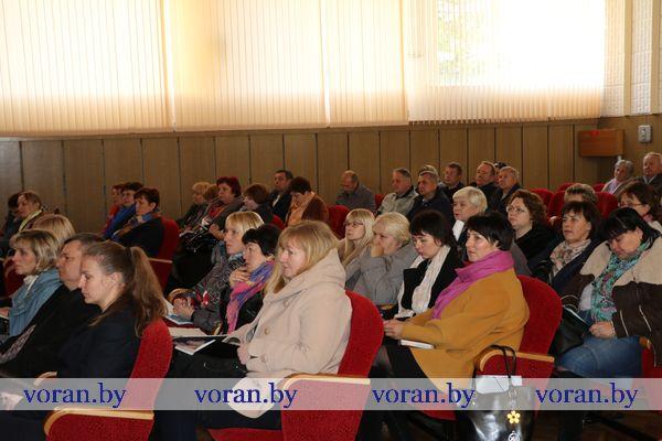 В Вороновском районе прошла первая учеба с председателями и секретарями участковых избирательных комиссий