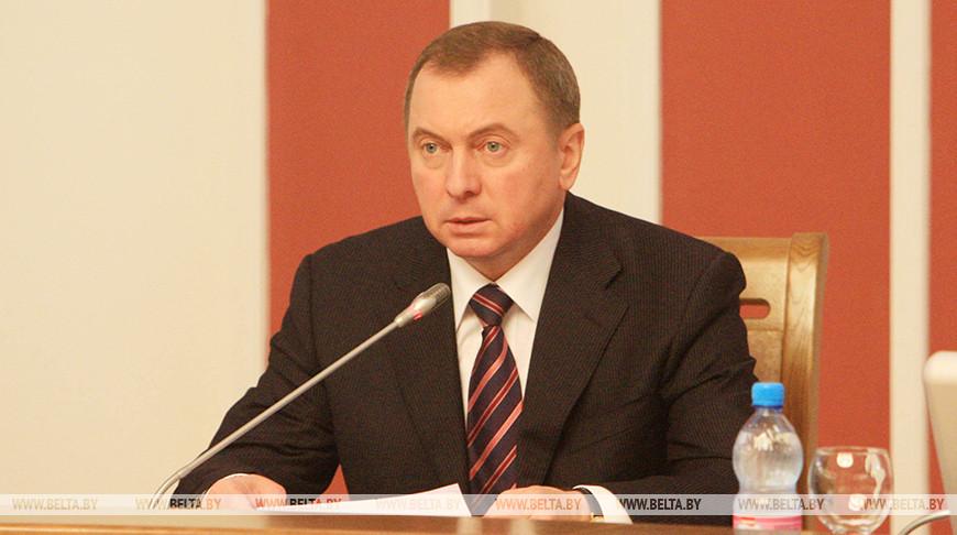Владимир Макей рассказал подробности работы над программой углубленной интеграции Беларуси и России