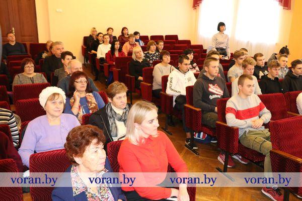 В Вороново 6 октября отметили 102-ю годовщину Великого Октября