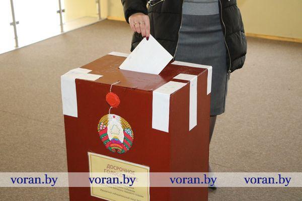 Выбираем. На Вороновщине для досрочного голосования задействовано 19 избирательных участков.