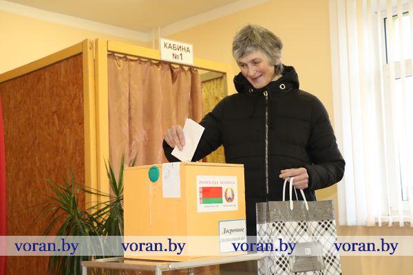 Досрочное голосование на Вороновщине. День второй