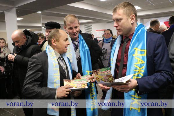 Лучших тружеников села Вороновского района чествовали на областном фестивале-ярмарке «Дожинки-2019» в Сморгони