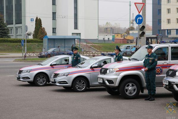 Geely прибыл на службу в Вороново