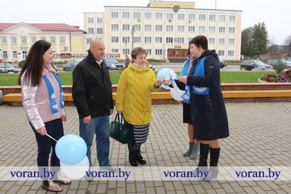 «Всей семьей на выборы». Вороновская районная организация Белорусского союза женщин присоединись к областной акции