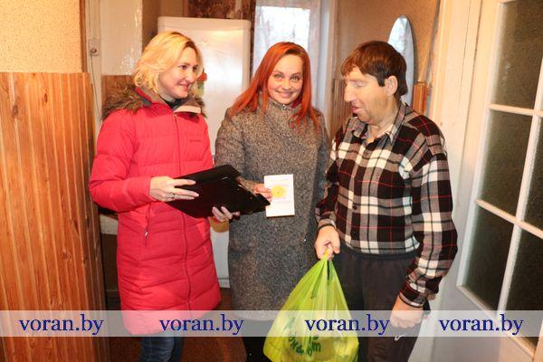 В Вороновском районе стартовала благотворительная акция «Ладонь добра»