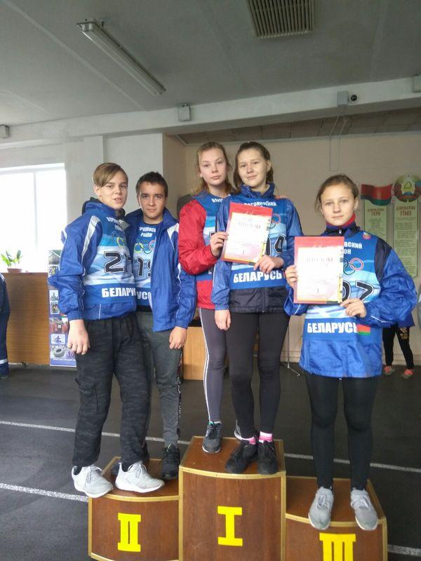 Вороновские школьники выиграли осеннее первенство области по легкой атлетике