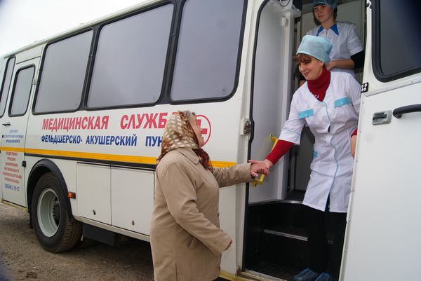 A PARAMEDIC-OBSTETRICIAN STATION WILL BE PUT ON WHEELS IN VORONOVO DISTRICT