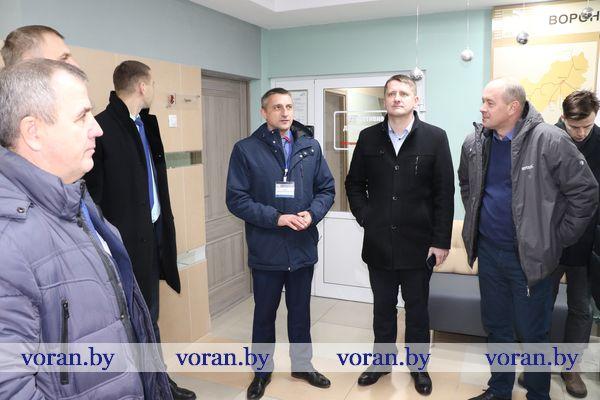 На базе Вороновского филиала Лидских электрических сетей РУП «Гродноэнерго» состоялся областной семинар по охране труда