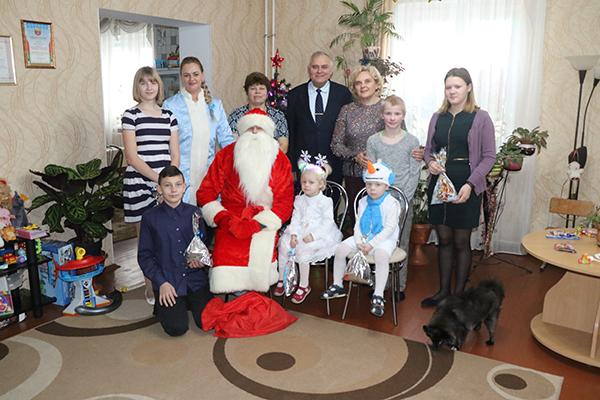 Дом семейного типа в г. п. Вороново встречал гостей