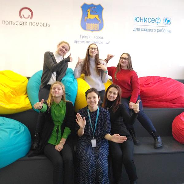 Старшеклассники Полецкишской школы стали участниками проекта по линии ЮНИСЕФ