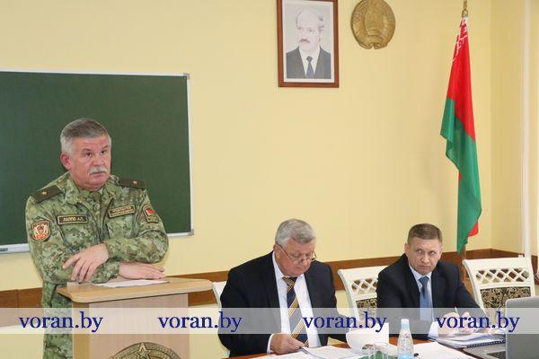 Руководство пограничного ведомства, Гродненской области и представители силовых структур подвели итоги взаимодействия в минувшем году (Будет дополнено)