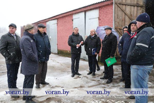 На базе сельхозпредприятий Вороновского, Ивьевского и Лидского районов прошел областной семинар-совещание