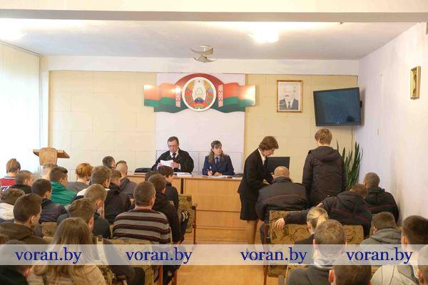 Нетрезвые «покатушки» привели жителя г.п. Вороново на скамью подсудимых