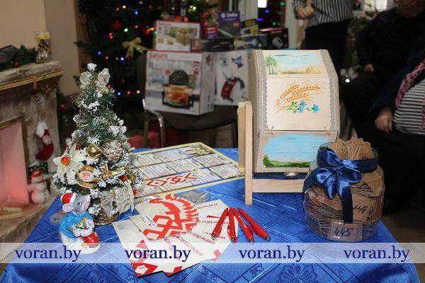 С легкой руки! 15 января, в день 80-летия района, «Воранаўская газета» разыграла призы для подписчиков
