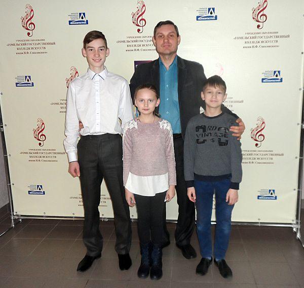 Юные вороновчане стали дипломантами международного конкурса «Мой сябра — баян»