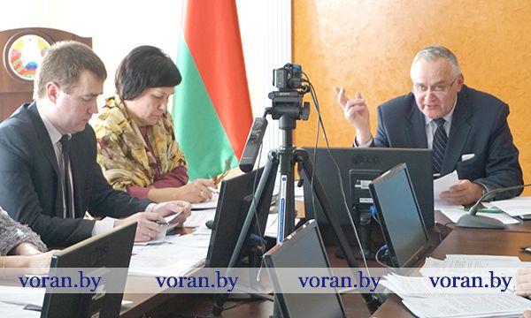 В Вороновском райисполкоме обсудили вопросы создания безопасных  условий для проживания социально уязвимых категорий граждан