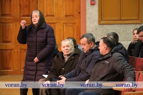 Вопросы жилищно-коммунального хозяйства, состояния улиц, здравоохранения, уличного освещения обсудили  12 февраля  на сходе граждан в Жирмунском сельском совете