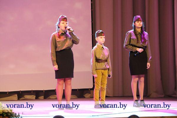 В Вороновском районном центре культуры и народного творчества прошло торжественное мероприятие, посвященное Дню защитников Отечества
