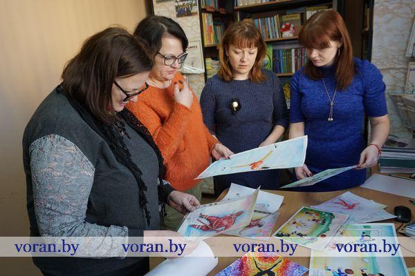 В Вороновском районе подвели итоги конкурса детского рисунка «Подружись со спортом!»