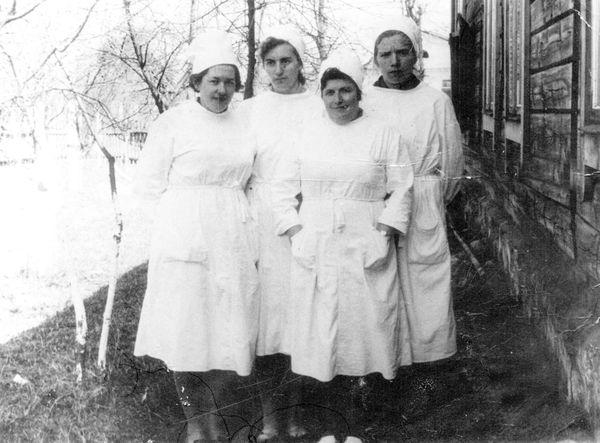 2) 1963 год, коллектив Беняконской больницы