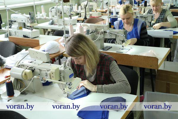В частном предприятии «Веранова» решили: «Время шить маски»