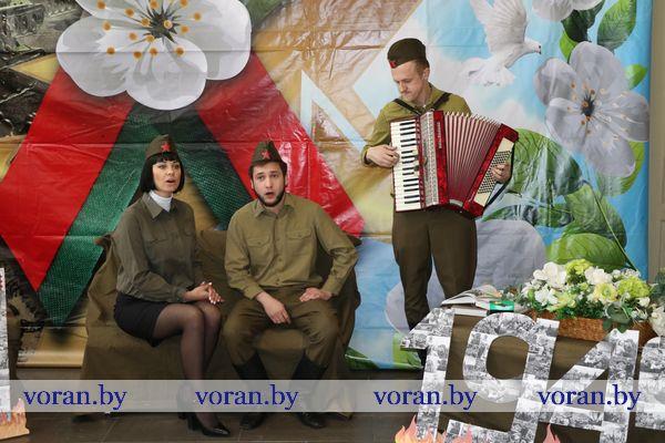 Вороновщина присоединилась к областной интернет-эстафете «Голоса Победы» (+ВИДЕО)