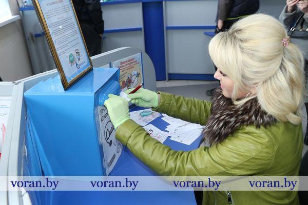 Вороновщина включилась в республиканский проект «Спасибо медикам». Земляки благодарят врачей за их нелегкий труд, отправляя открытки