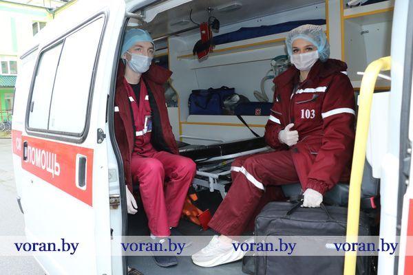 Как работает служба скорой помощи на Вороновщине  в условиях общего подъема инфекционной заболеваемости